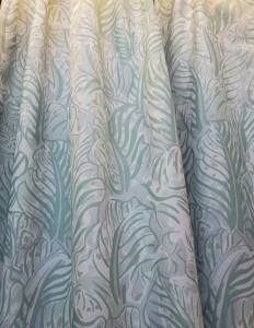 薄荷綠色斑馬紋全遮光
